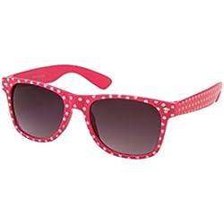 Sonnenbrille 50er Rockabilly Style pink Punkte