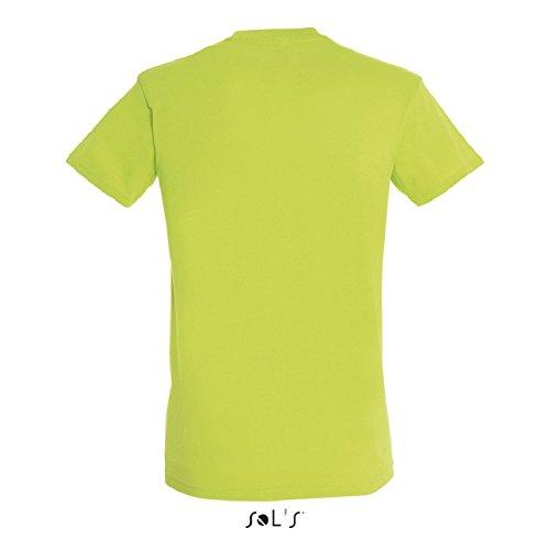 Parte superiore camicia da uomo a maniche lunghe camicia Oxford disponibile fino a misura 6XL zinco