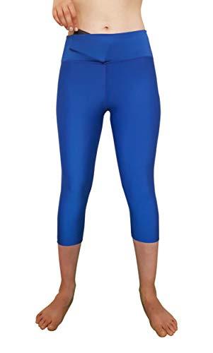 ZAH S, Capri R Blue Lycra Capri Leggings