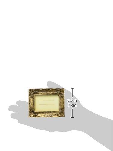 "Kate Aspen""Work of Art"" Antique-Finish Place Card Holder/Photo Frame"