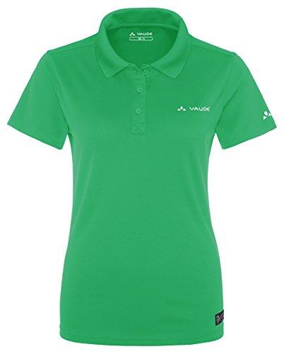 Vaude Marwick Polo Femme Vert - Vert sauterelle
