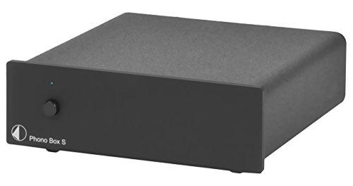 Pro-Ject Phono Box S MM und MC Abschlusskapazität und Abschlusswiderstand einstellbar schwarz