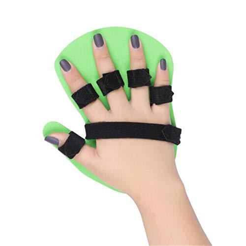 Sunshine Finger-TrainingsBoard, Finger Flexion, Korrektur von Stroke, Hemiplegia, Rehabilitationstrainingsausrüstung, anpassungsfähige medizinische Outdoor-Sportarten,Right,L -