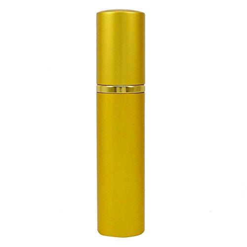 15 Ml D'Or Vide Verre Clair Parfum Rechargeable Bouteille Spray Atomiseur Pour Voyage Pack Handbag- De 2