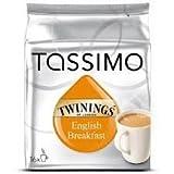 Tassimo Twinings English Breakfast Tea, 16 T-Discs by Tassimo