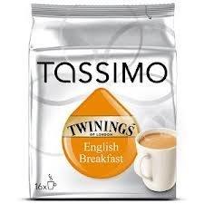 Tassimo Twinings English Colazione Tè confezione da 3) 16 T-Disc - Twinings Colazione Tè