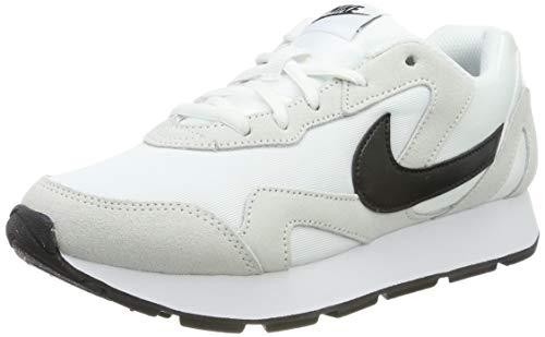 Nike Damen WMNS Delfine Leichtathletikschuhe, Weiß (White/Black 000), 40 EU (Nike Canvas Sneakers Frauen)