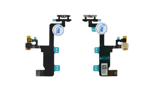 Gsm-iphone (Power Button Flex Cable An Aus Standby Schalter Flash Microfone für IPhone 6 6G)