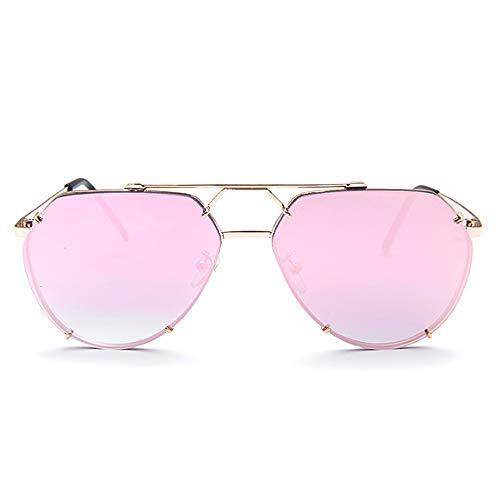 2d7a61e5f0 hlq Espejo de conducción de protección UV, Gafas de Sol polarizadas de  Metal Poligonal,