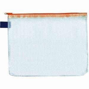 Reissverschluss-Beutel A6, mit Zip, orange, 10 Stück Reißverschluss-beutel
