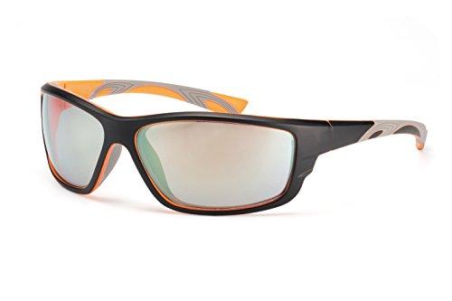 Filtral Sportbrille/Verspiegelte Sport-Sonnenbrille für Herren aus flexiblem Zwei-Komponenten Kunststoff F3020309