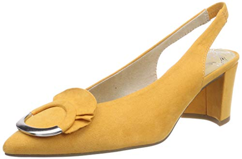 MARCO TOZZI Damen 2-2-29609-22 Slingback Pumps, Orange (Mango 637), 37 EU