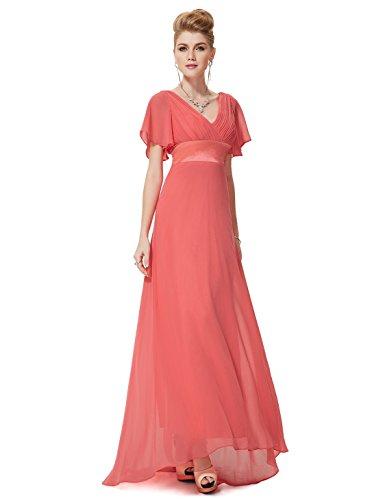 Ever Pretty Rueschen Rundhals Neckholder Blumenprint Casual Sommer Kleid 03447 Karolle