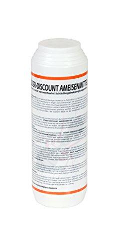 Köder-Discount 1 kg Ameisengift Granulat Ameisenmittel für Innen, Außen, Haus, Garten, Rasen - Ameisen Streumittel