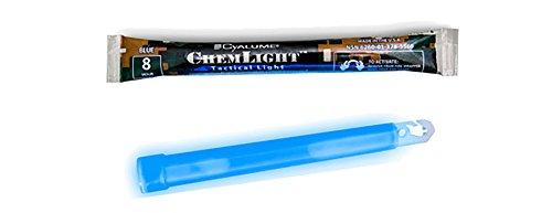 Cyalume® 8Stunde 15,2cm Military chemlight (15cm) blau Lightstick Marken Signatur-stick