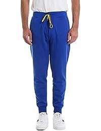 e007e1acaad Ralph Lauren Mod. 710652314 Pantalon Jogger Performance Double Knit Homme  Bleu Clair