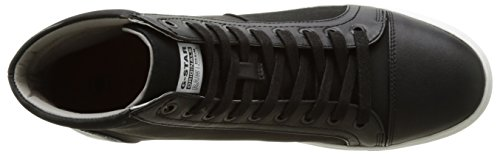 G-STAR RAW Toublo Mid, Sneakers Hautes Homme Noir (Black 990)