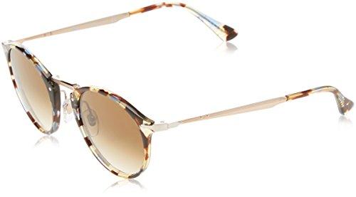Persol Herren 0Po3166S 105851 51 Sonnenbrille, Braun (Havana/Azure Brown)