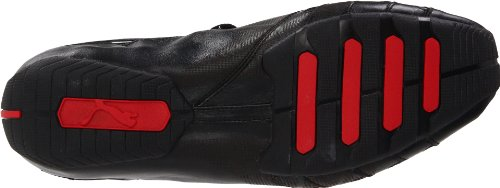 Puma Vedano V Mens Black/Black/Ribbon Red