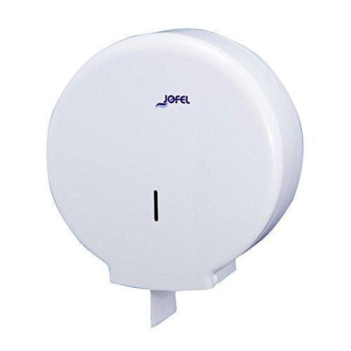 Jofel ae55300azur Toilettenpapierhalter groß, 400m, Dornmaß 55mm, weiß