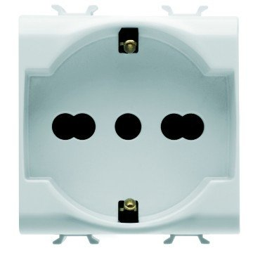 Gewiss GW10204 presa energia Bianco