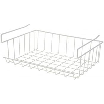 schrankkorb zum einh ngen metall wei regalkorb. Black Bedroom Furniture Sets. Home Design Ideas