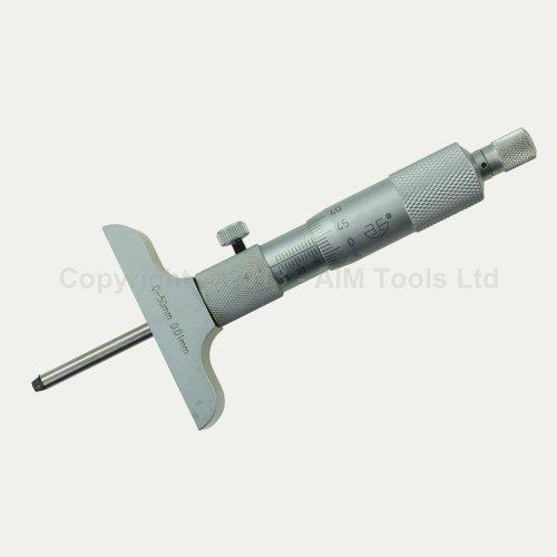 40132602 Economy Preis-Gute Qualität Frästiefe Mess Micormeter 0-50mm