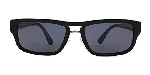 Ray-Ban Herren 0PR 05VS Sonnenbrille, Mehrfarbig (Black), 56.0
