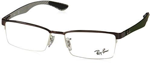 Preisvergleich Produktbild Ray-Ban Herren Brillengestelle 8412, Schwarz (Negro), 54