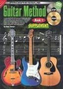 Guitar Method 1 Supplement (Progressive Guitar Method) (Method Progressive Guitar)