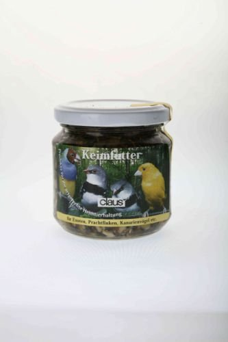 Claus Keimfutter Exoten/Kanarienvögel 210ml