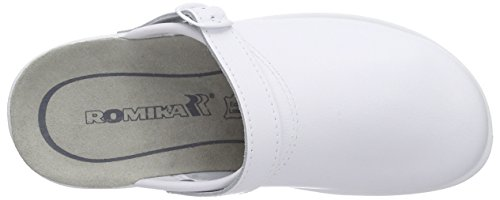 ROMIKA Village 311 G, Chaussons Mules femme Blanc (Weiss)