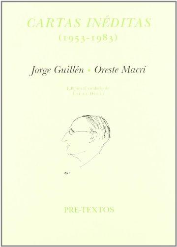 Descargar Libro Cartas inéditas (1953-1983) (Letras Hispánicas) de Jorge Guillén