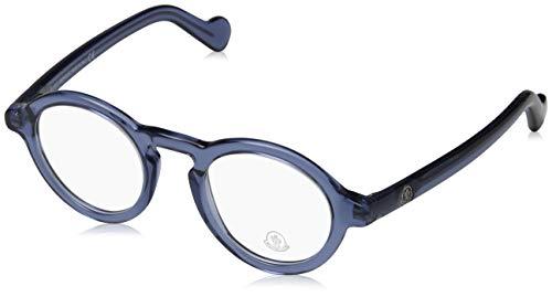 Moncler Unisex-Erwachsene Brillengestelle ML5019 092 46, Blau (BLU)