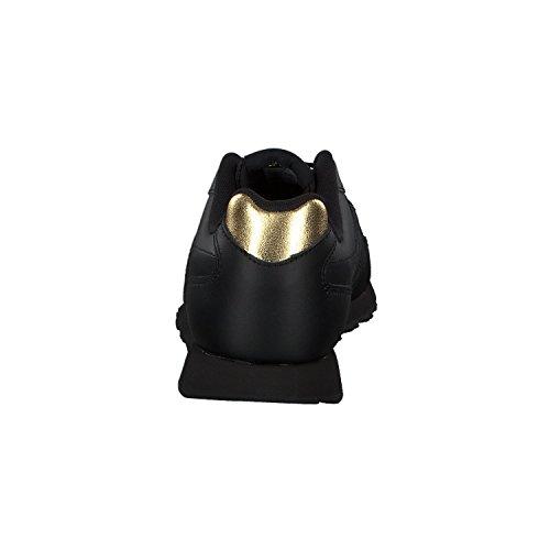 Reebok Damen Sneakers Royal Glide Lx Nero-oro Metallizzato