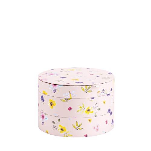Rössler 13561396000 - Flower Dream - 3-teilige Box mit Deckel, rund, 220 x 150mm
