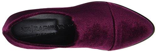 NR RAPISARDI - E700, Mocassini Donna Rot (Wine Velvet)