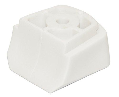 Inliner-Bremse Bremsstopper Bremsklotz aus Plastik für Inlineskates Croxer Alice (weiß)