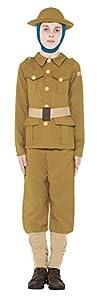 Smiffys - Disfraz Soldats/officiers unisex a partir de 20 años, talla 10-12 Jahre (158cm) (Smiffys 27037L) Importado