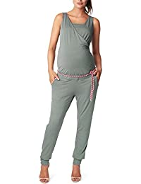 Noppies Damen Umstands Overall Jumpsuit Nurs Isla