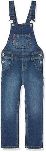 Levi's Kids, DUNGAREE NM20507, Fille, Bleu (Indigo 46), 14 ans (Taille fabricant:14A)