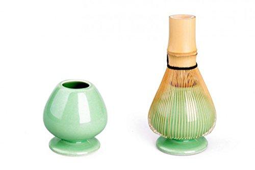 Matcha-Besen-Halter hellgrün