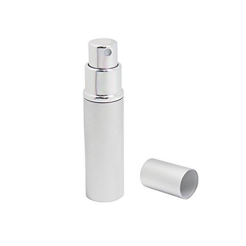 Homgaty 5 ml Voyage Parfum Atomiseur/atomiseur rechargeables Pompe à Flacon pulvérisateur
