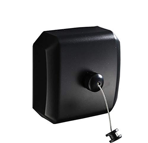 Tochange Unsichtbare Waschlinie, Round/quadratische Form 304 Edelstahl-Retrosty-Indoor-Kleidungsdraht-Trockner mit 2,8m Stahlstring-Linie für Bad,Square -