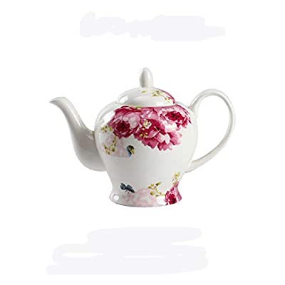 PUDDINGY® Style Européen Chine En Os Théière Ménage Cafetière Bouilloire