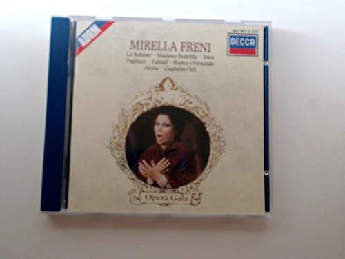 Mirella Freni-Airs d'Opéra-Puccini-Verdi-Bellini
