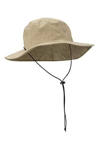 Mountain Warehouse Australian Brim Sombrero australiano del borde - 100%  casquillo del vaquero del. dd91e7fb2ca