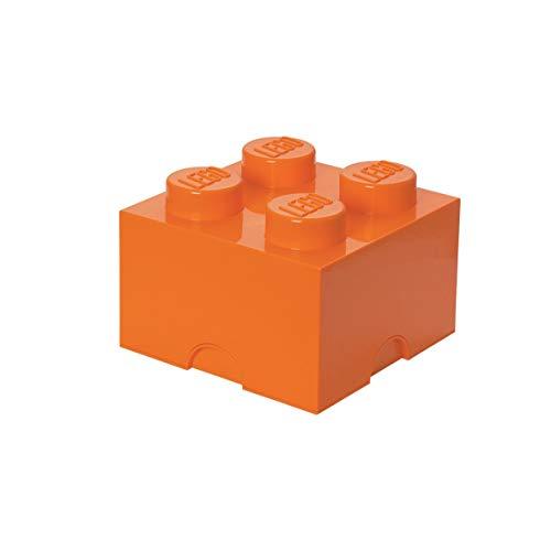 Room Copenhagen Ladrillo de Almacenamiento de 4 espigas de Lego, Caja