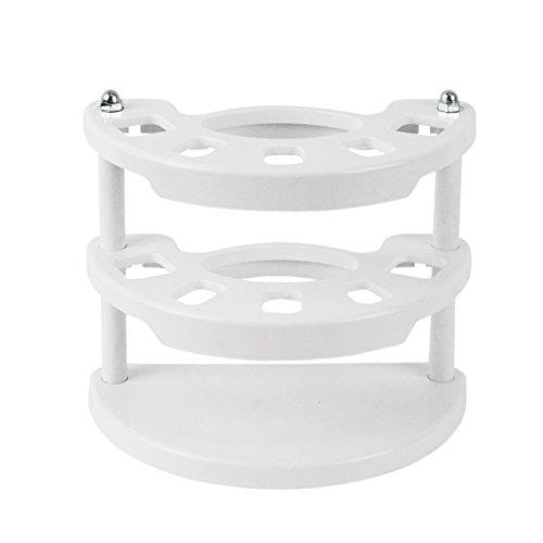 Zahnbürstenhalter für Handzahnbürsten . Kunststoff Farbe weiß 2481