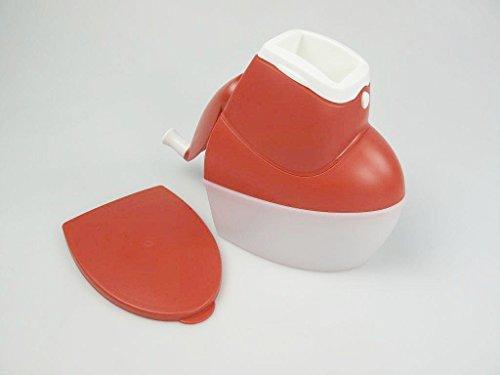 TUPPERWARE Chef Mahl-Chef rot-weiß D126 Reibe Nüsse Käsereibe Universalmühle
